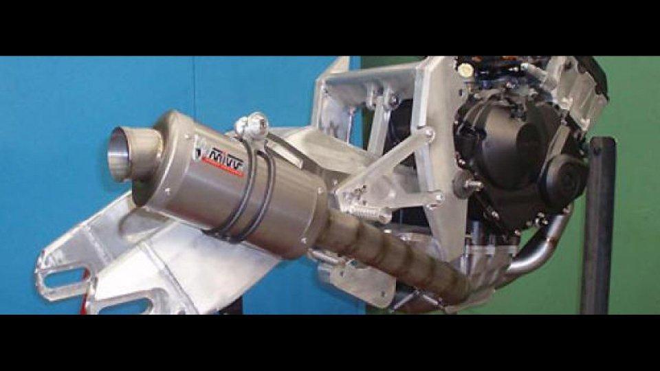 Moto - News: Mivv sviluppa gli scarichi per la Moto2
