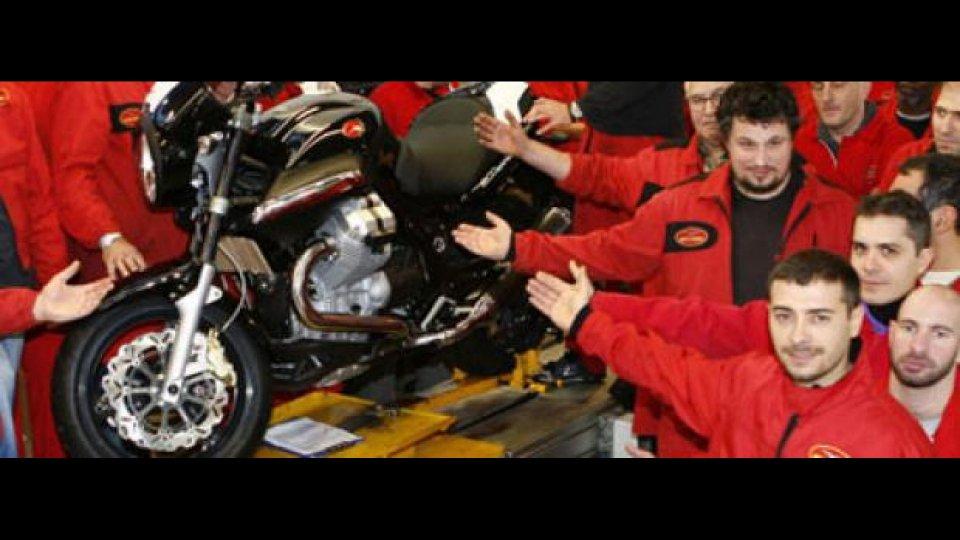 Moto - News: Moto Guzzi: sindacati sul piede di guerra