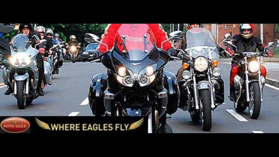 Moto - News: Moto Guzzi 'Where Eagles Fly'