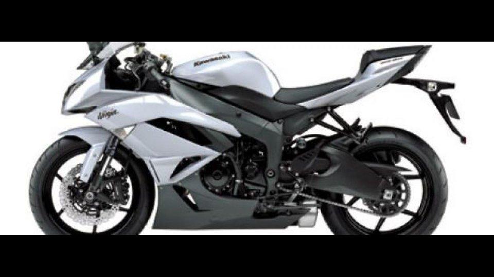 Moto - News: Kawasaki ZX-6R Ninja 2010
