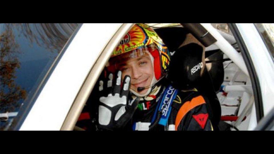 Moto - News: Valentino Rossi al via del Rally del Messico 2011