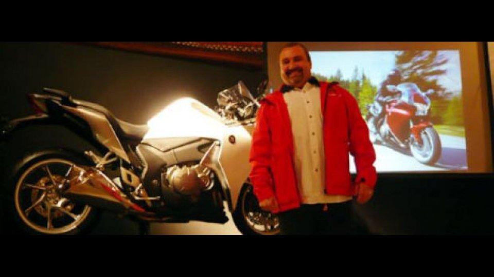 Moto - News: Carlo Sabbatini ci racconta la VFR1200F