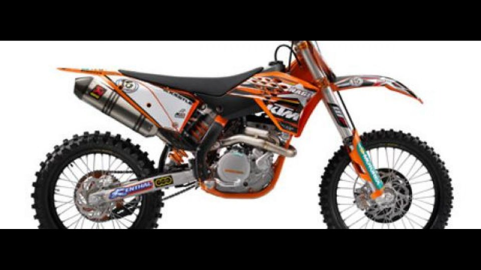 Moto - News: KTM 450 SX-F Nagl Replica