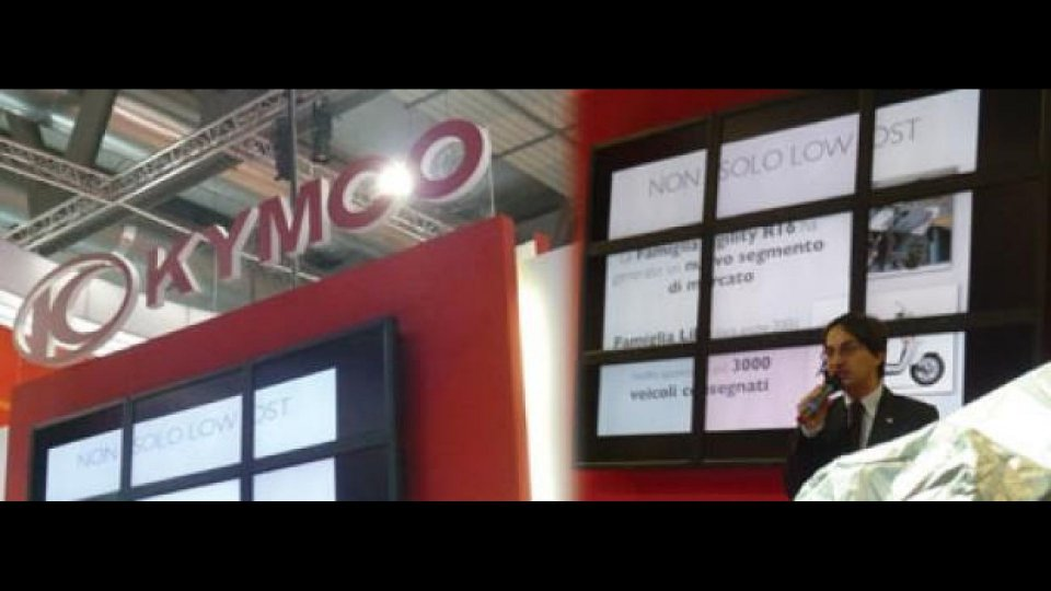 Moto - News: Kymco ad Eicma 2009 - LIVE