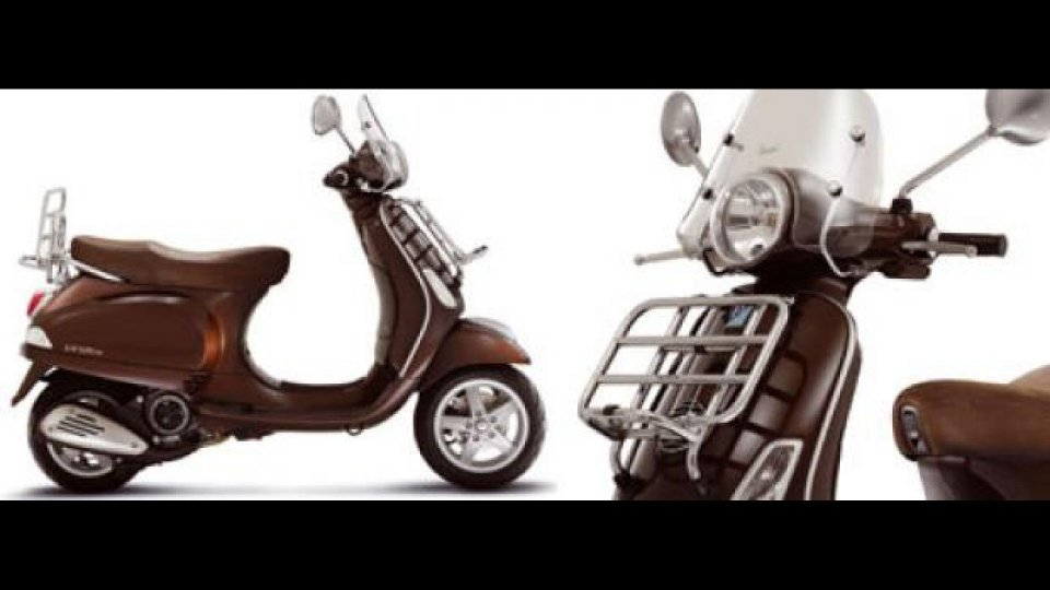 Moto - News: Vespa LX ed LX Touring 2010