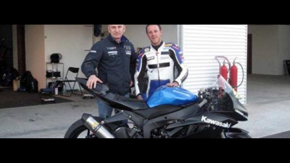 Moto - News: Fabien Foret e la ZX-6R di Lorenzini veloci ad Almeria