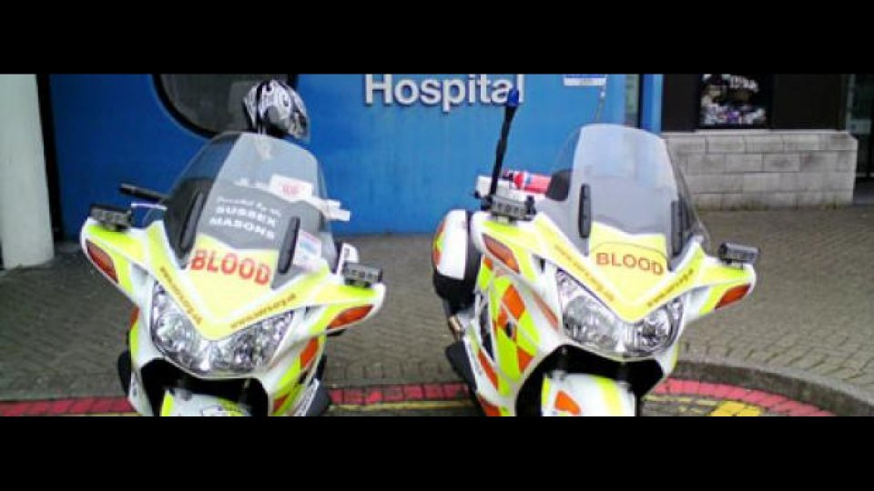 "Moto - News: Motociclisti salvavita: i ""Blood Runners"" inglesi"