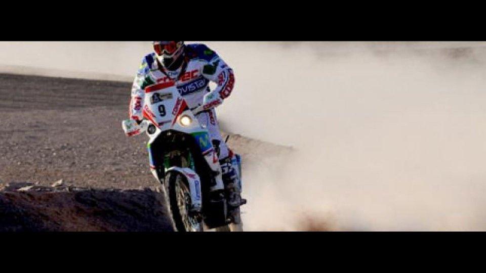 Moto - News: Dakar 2010: 7^ e 8^ tappa, grande Aprilia