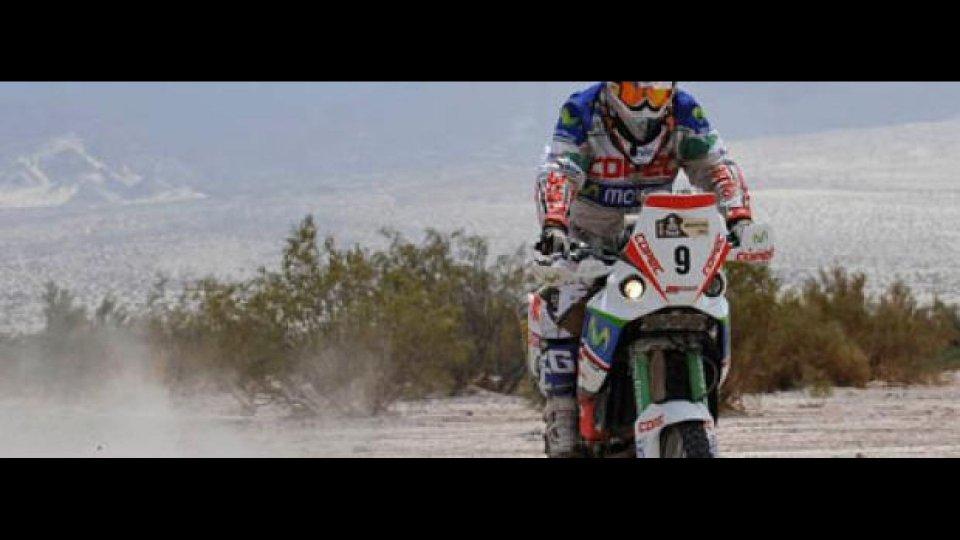 Moto - News: Dakar 2010: L'Aprilia sarebbe prima se...