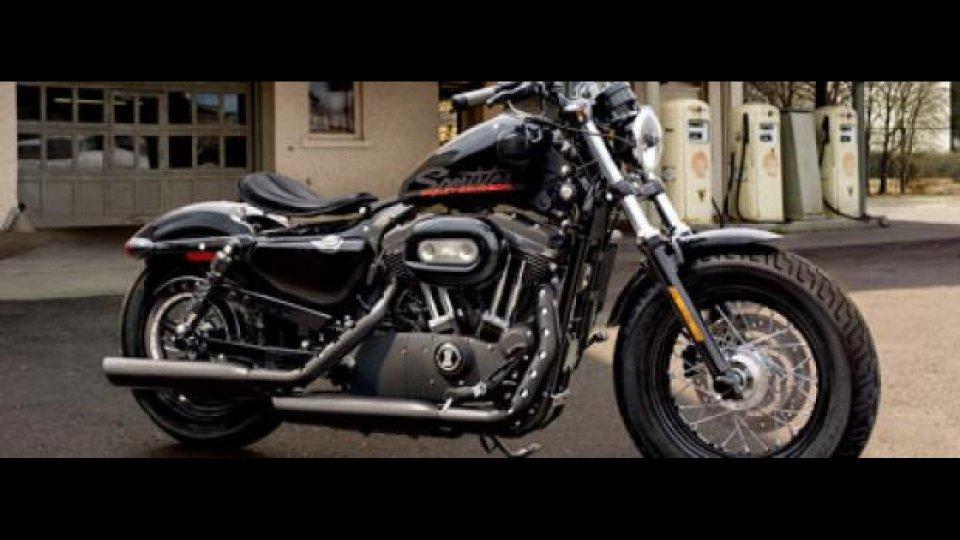 Moto - News: Harley-Davidson Sportster Forty-Eight 2010