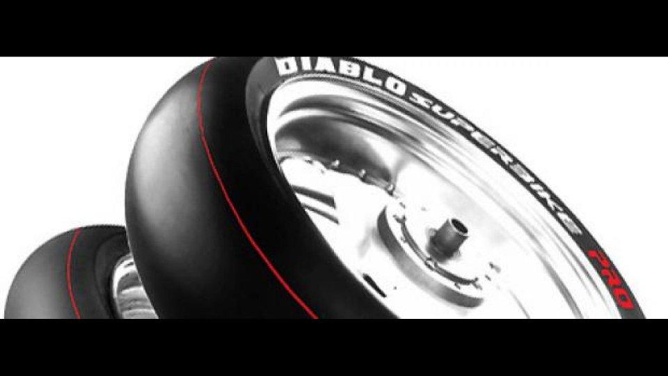 Moto - News: Pirelli: nuovo Diablo Superbike Pro