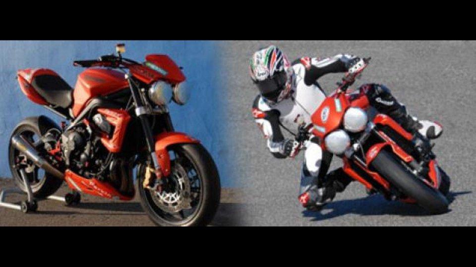 Moto - News: Triumph ParkinGO European Series: test a Valencia
