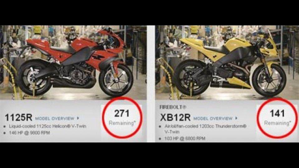 Moto - News: Buell: in USA oltre 1100 moto a prezzo di realizzo