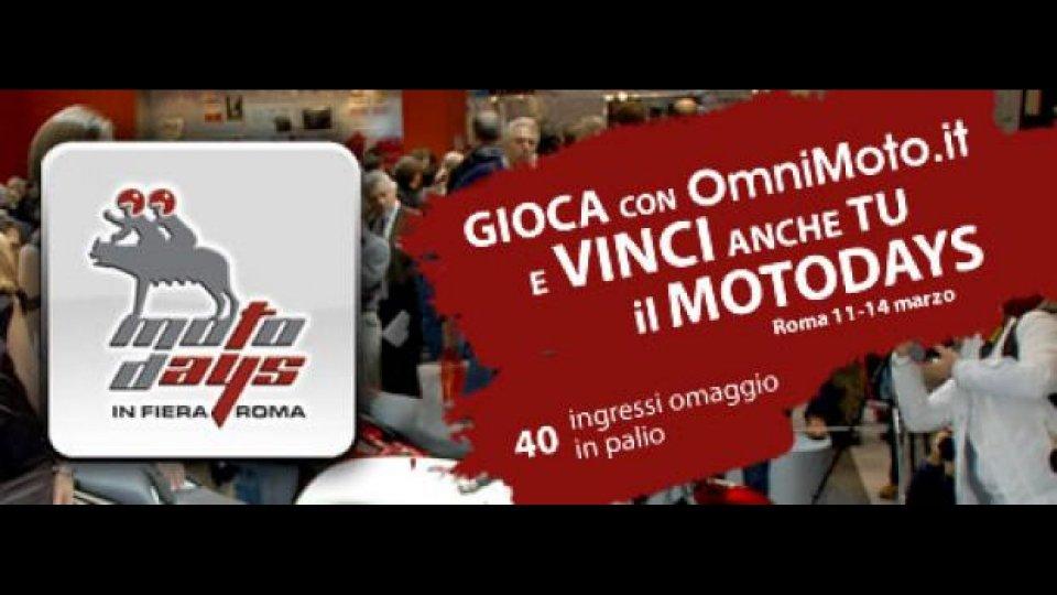Moto - News: Concorso OmniMoto.it: vinci il MotoDays 2010