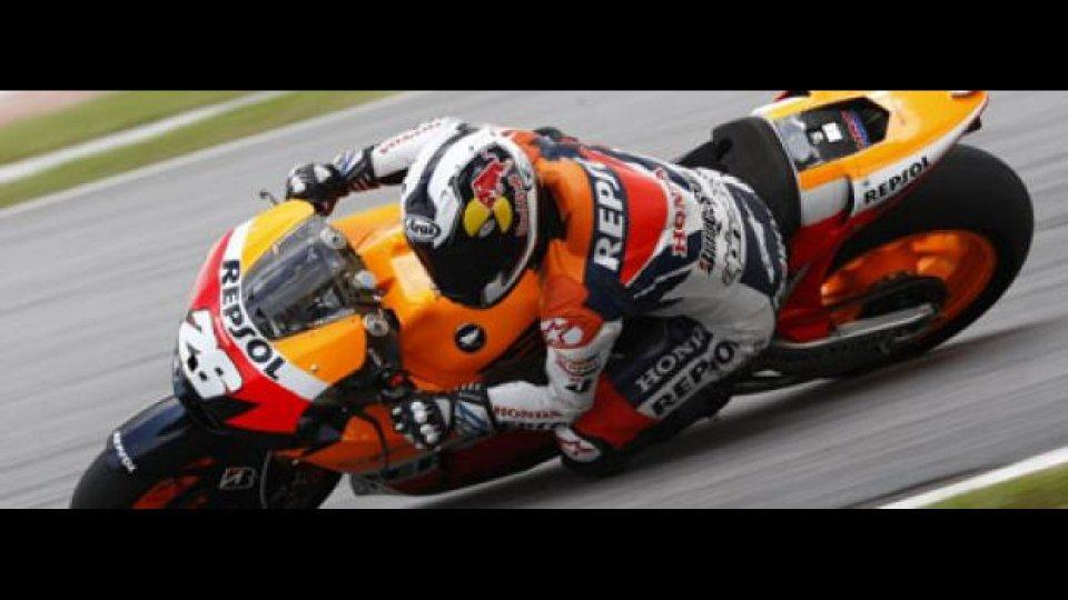 Moto - News: MotoGP 2010, Sepang, Test: team Honda