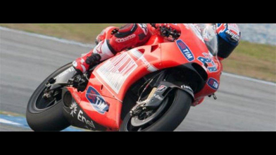 Moto - News: MotoGP 2010, Sepang/2, Test day/2: team Ducati