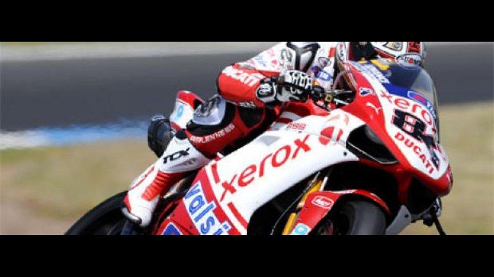 Moto - News: WSBK 2010, Phillip Island Test: super-Ducati