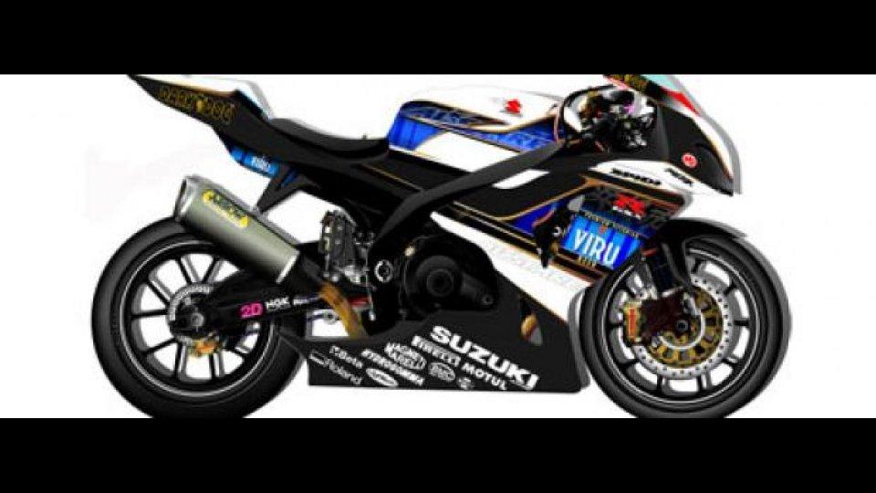 Moto - News: WSBK 2010: svelati i colori del team Alstare Suzuki