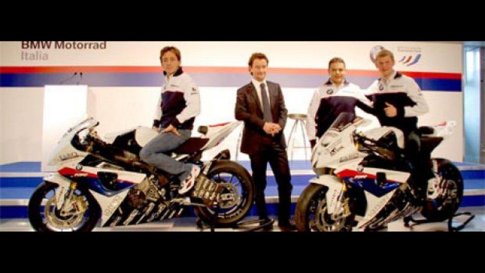Moto - News: BMW Motorrad Italia Superstock Team: eccolo!