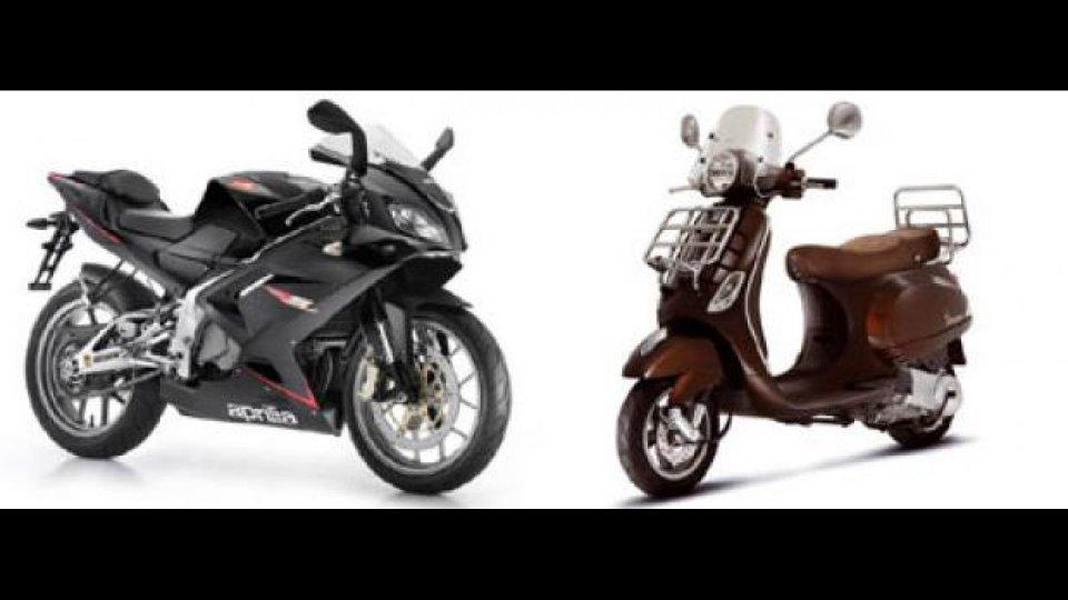 Moto - News: Primo bimestre 2010 in crescita per il Gruppo Piaggio
