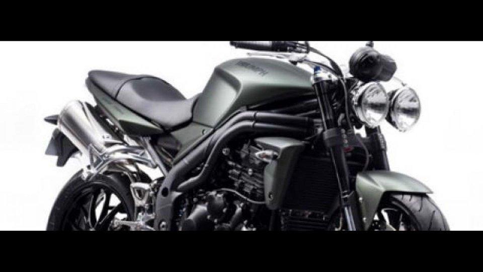 "Moto - News: Triumph Speed Triple ""military"" 2010"