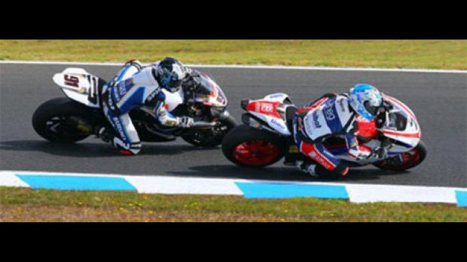"""Moto - News: WSBK 2010, Phillip Island: Checa vince al """"debutto"""""""