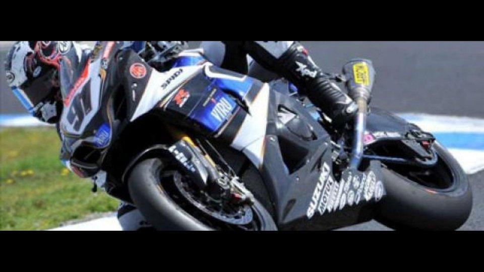 Moto - News: WSBK 2010 Portimao, qualifiche del venerdì: Haslam
