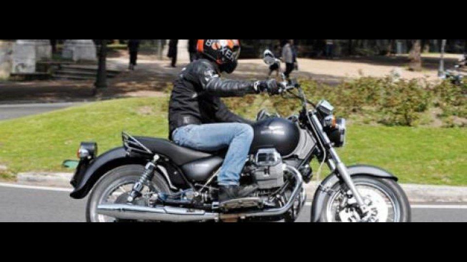 Moto - Test: Moto Guzzi California Aquila Nera - TEST