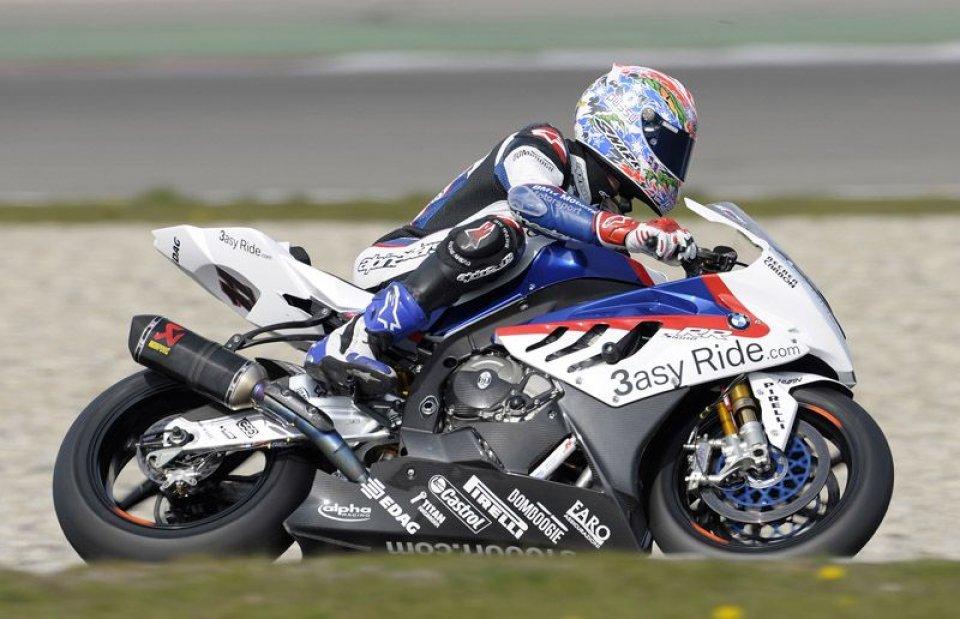 Moto - News: La BMW ad Assen ha lottato per il podio