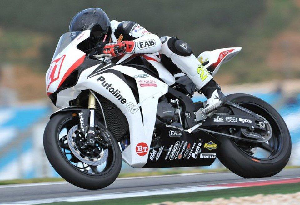 Moto - News: STK: Berger e Badovini a strettissimo contatto