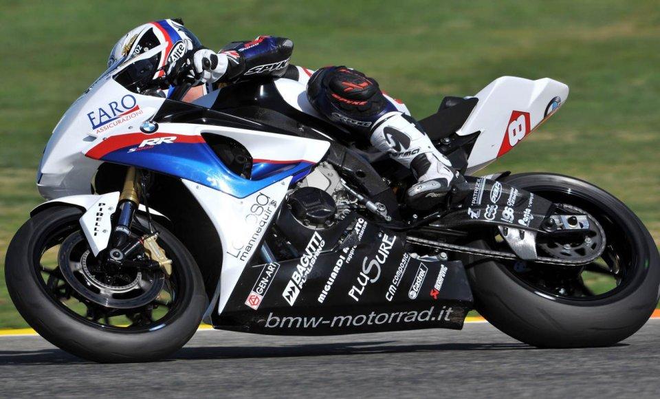 Moto - News: STK: Badovini in pole con il tempo di venerdì