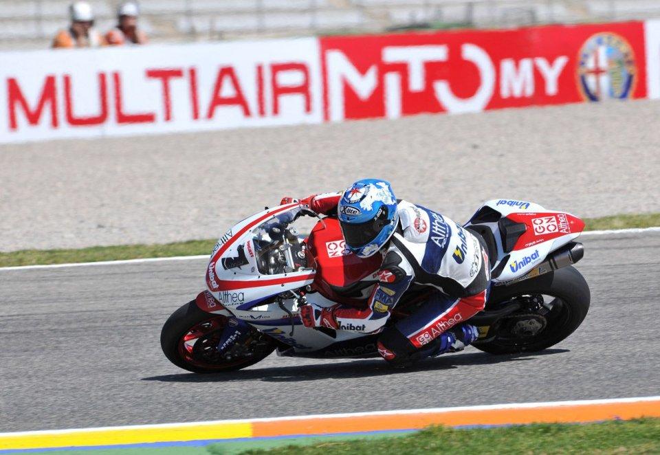 """Moto - News: SBK: Tre Ducati """"clienti"""" ai primi tre posti!"""
