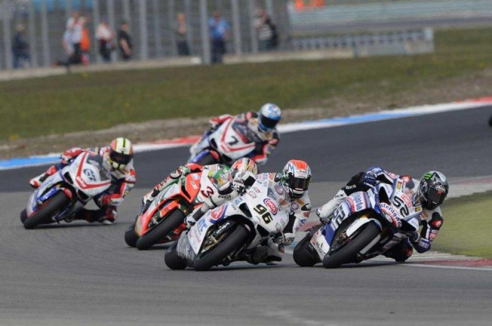 Moto - News: La Yamaha due volte sul podio con Toseland