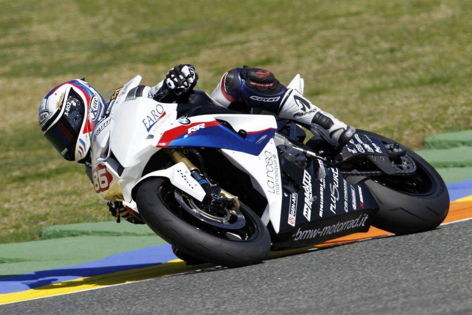 Moto - News: STK: Grande Badovini! Vicino al record con la BMW