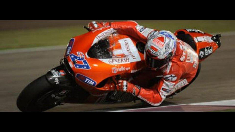 Moto - News: Moto GP 2010, Qatar, Qualifiche: la prima pole è di Stoner