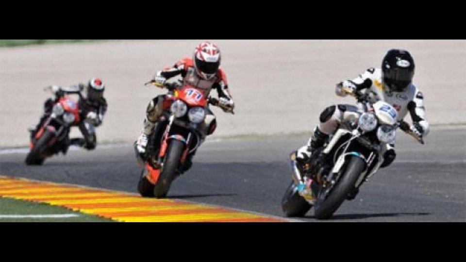 Moto - News: Triumph ParkinGO European Trophy: vince Perotti