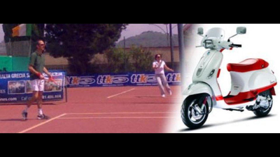Moto - News: Vespa Tennis Tour 2010