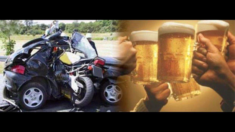 Moto - News: In Europa l'alcol causa la metà degli incidenti