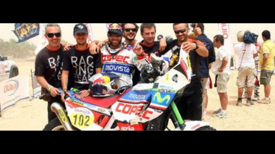 Moto - News: L'Aprilia RXV 4.5 del Team Giofil al Sardegna Rally Race