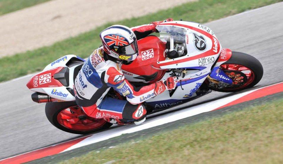 Moto - News: A sorpresa Byrne nel warm up