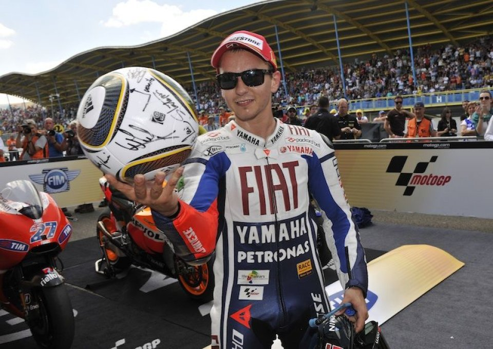 Moto - News: Lorenzo sempre più efficace