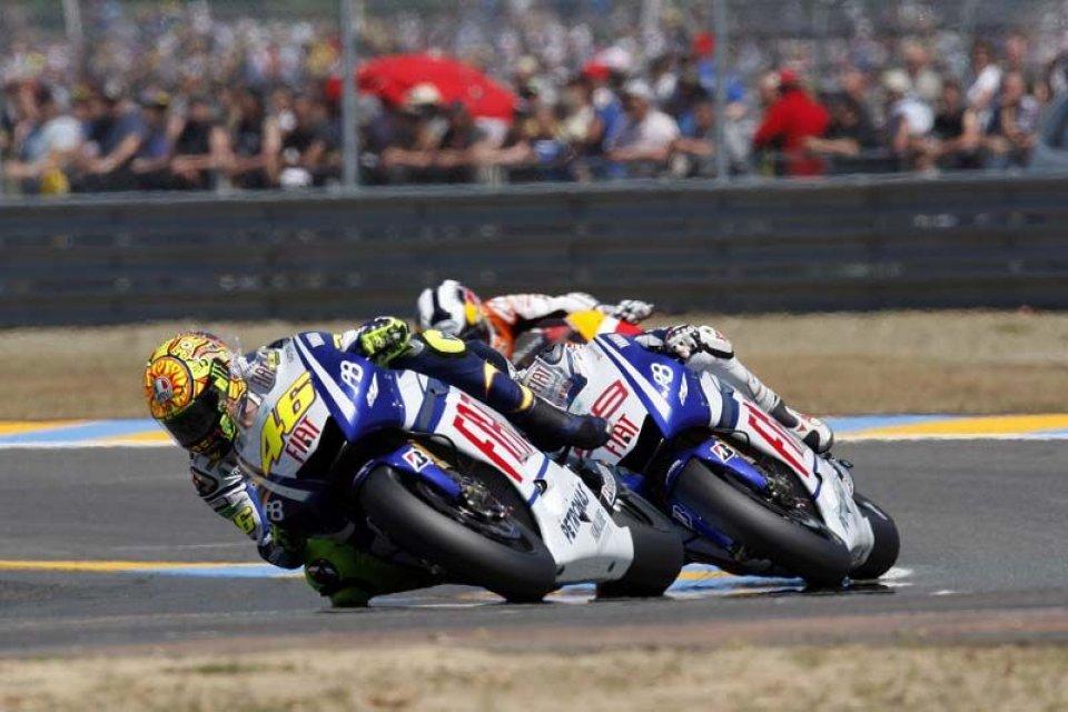 Moto - News: Rossi-Lorenzo, il giorno della verità