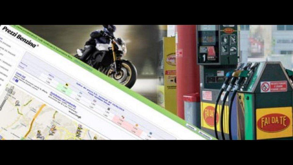 Moto - News: Adiconsum promuove PrezziBenzina.it