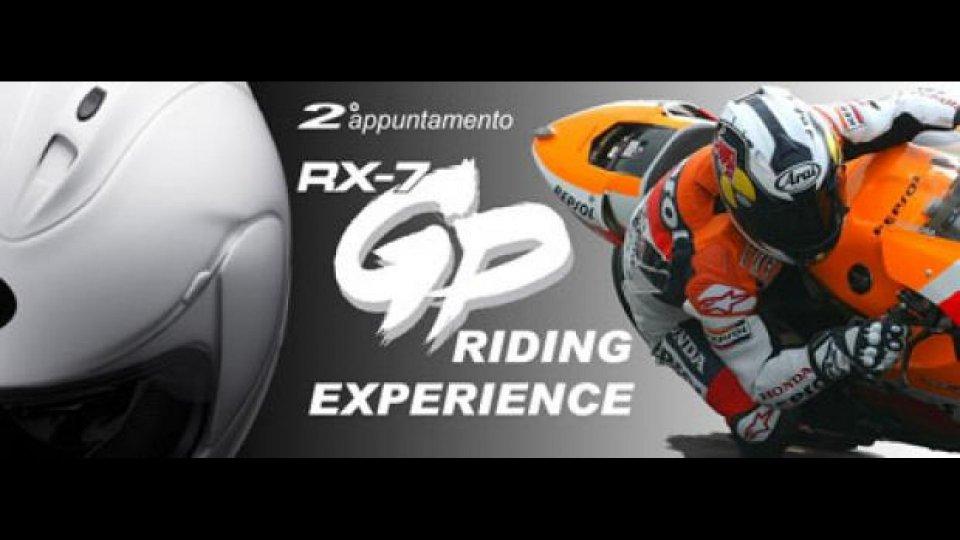 """Moto - News: Arai RX-7 GP """"Riding Experience"""" 2010"""