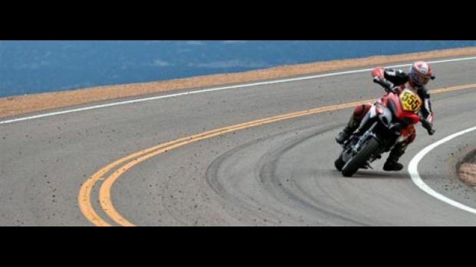 Moto - News: La Ducati Multistrada 1200 vince la Pikes Peak 2010