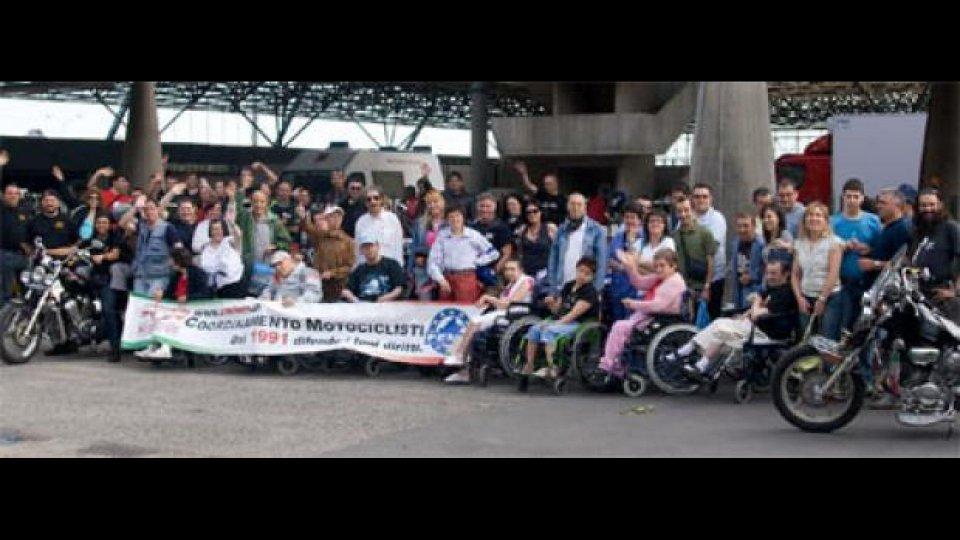 Moto - News: Giornata dell'amicizia tra motociclisti e disabili