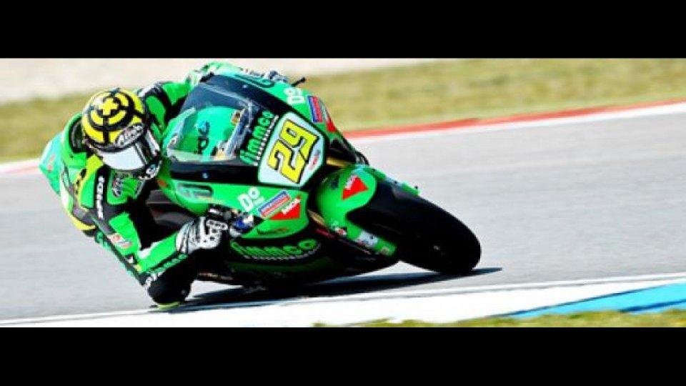 Moto - News: Moto2 2010, Assen, gara: stravince Iannone