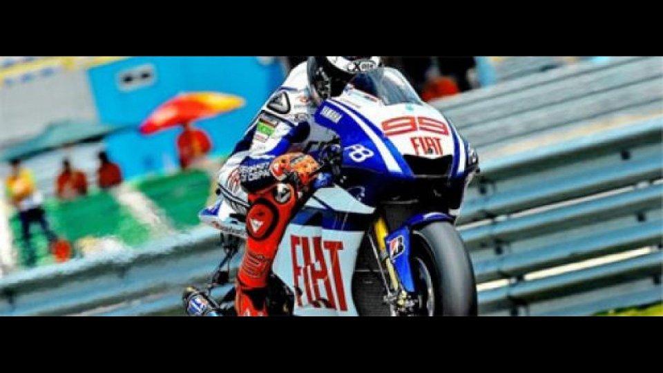 Moto - News: MotoGP 2010, Assen, FP1: Lorenzo davanti