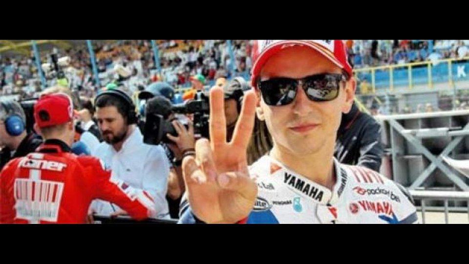 Moto - News: MotoGP 2010, Assen, Qualifiche: Lorenzo in pole