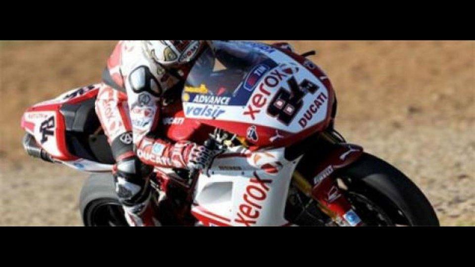 "Moto - News: WSBK 2010, Imola test: Fabrizio sotto 1'49"""